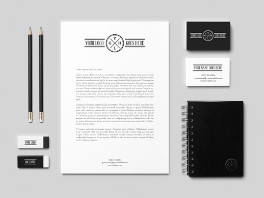 23 Free Sets Of Branding Identity Mockup Templates Psd