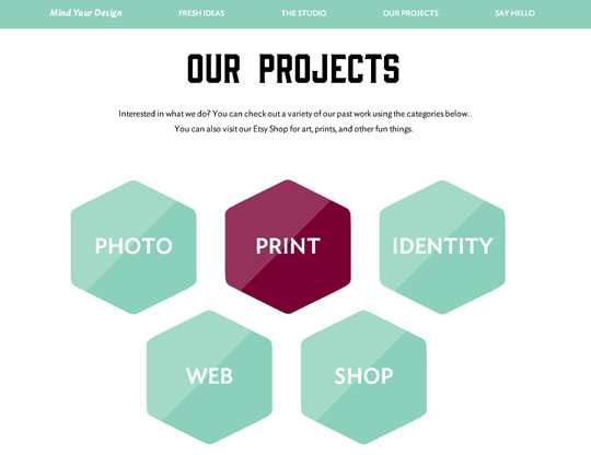 6.web design inspiration