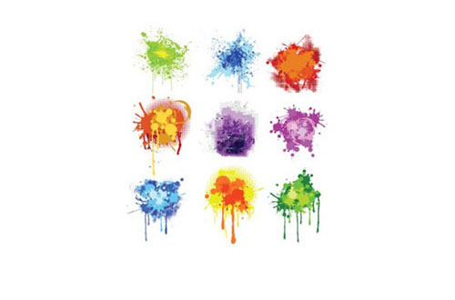 7.Splatters vectors