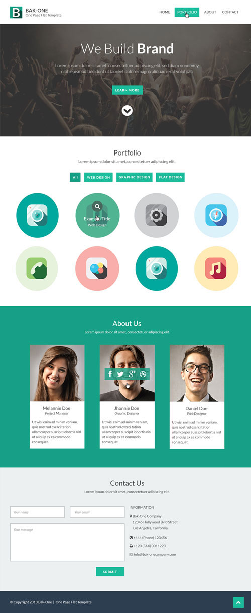 8.free website psd