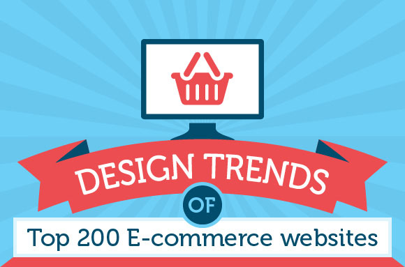 Design Trends Of The Top 200 eCommerce Websites [Infographic]