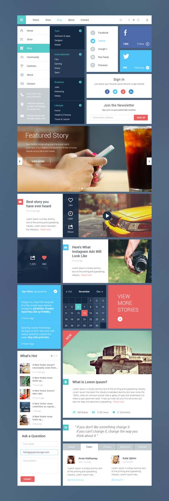 Blog-Magazine-UI-Kit-2-Full