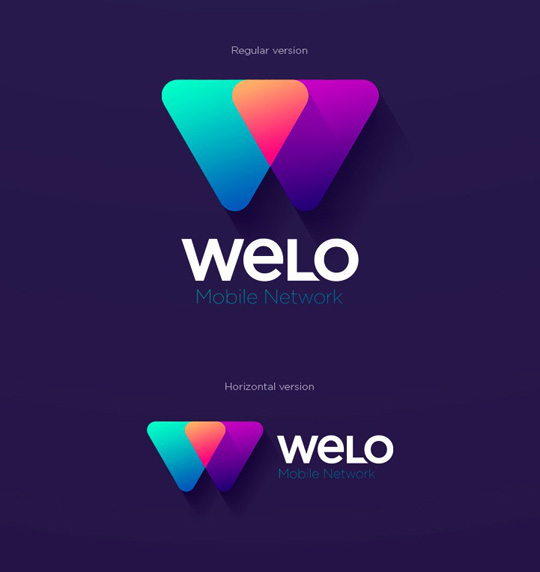 Visual Identity and Branding Series  Welo Mobile Network _4
