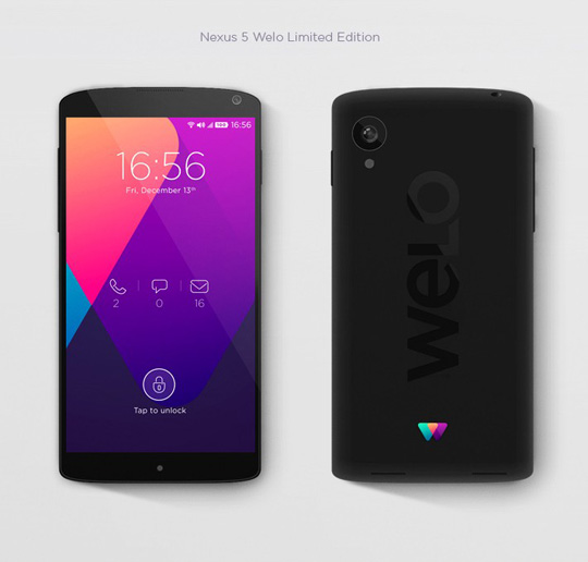 Visual Identity and Branding Series  Welo Mobile Network _5