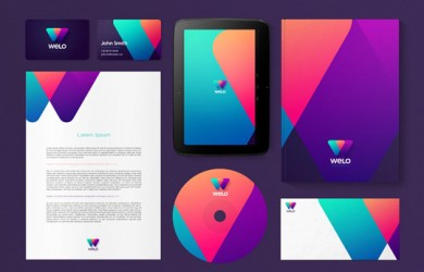 Visual Identity and Branding Series  Welo Mobile Network _6