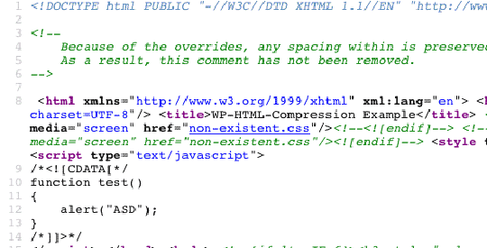WP-HTML-compression