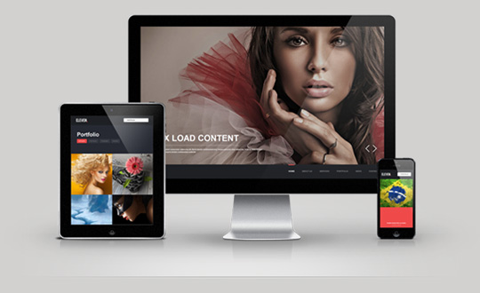 Wordpress Responsive One Page Parallax