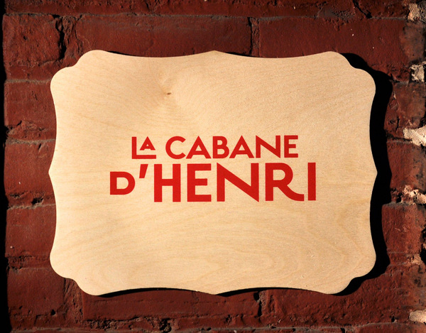 Visual Identity and Branding Series  La cabane d'Henri