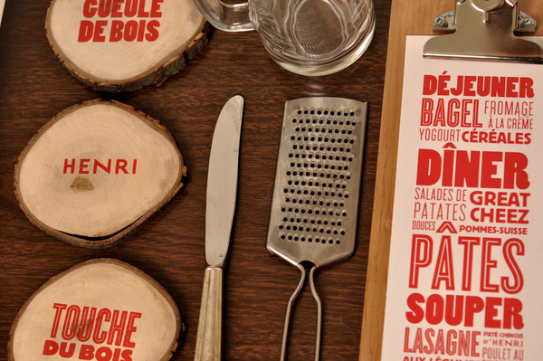 12.Visual Identity and Branding Series  La cabane d'Henri