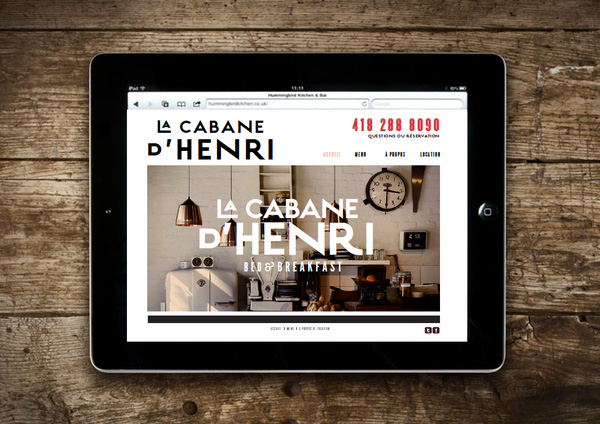 15.Visual Identity and Branding Series  La cabane d'Henri