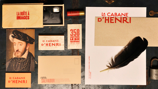 2.Visual Identity and Branding Series  La cabane d'Henri
