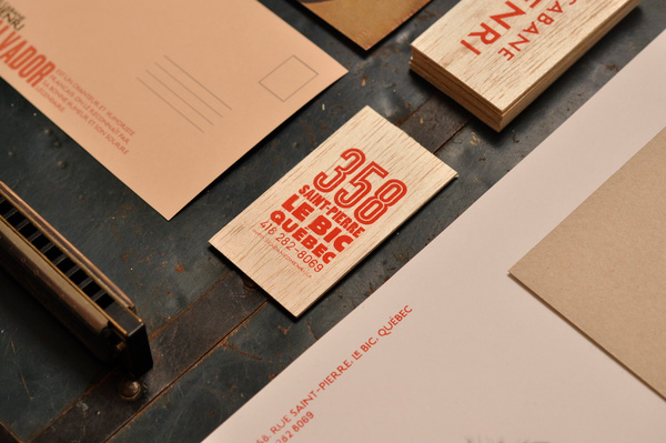 5.Visual Identity and Branding Series  La cabane d'Henri