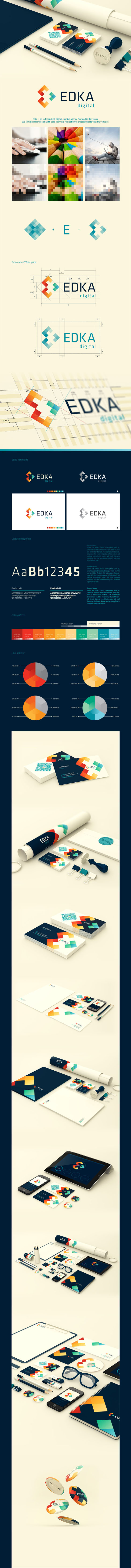 Visual Identity and Branding Series  Edka Digital