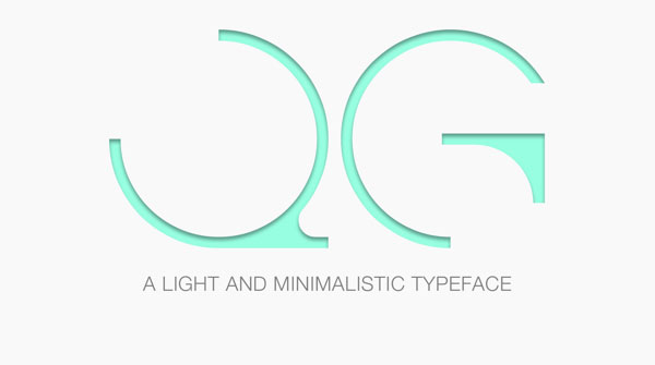 Free Font Of The Day  QG