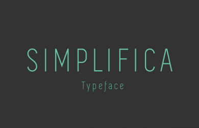 ree Font Of The Day Simplifica