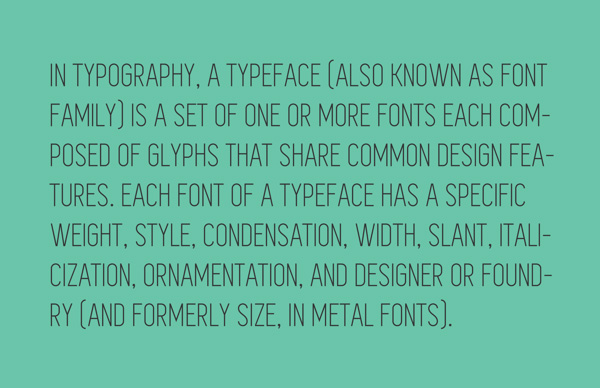 11.Free Font Of The Day  Simplifica