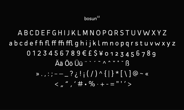 2.Free Font Of The Day  Bosun