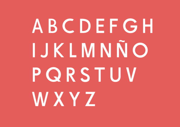 2.Free Font Of The Day  De La Fuente