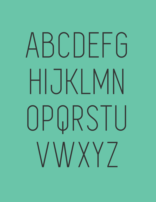 4.Free Font Of The Day  Simplifica