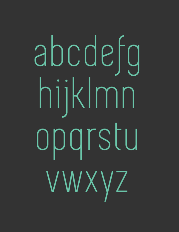 5.Free Font Of The Day  Simplifica