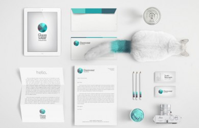 5.Visual Identity and Branding Series  Glasswear Industries