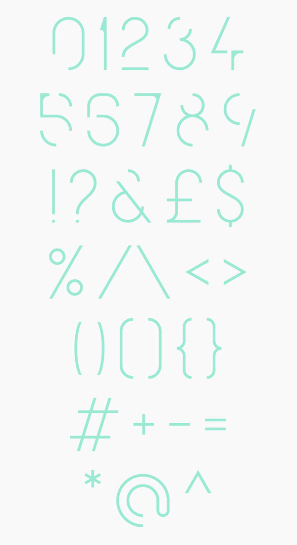 6.Free Font Of The Day  QG