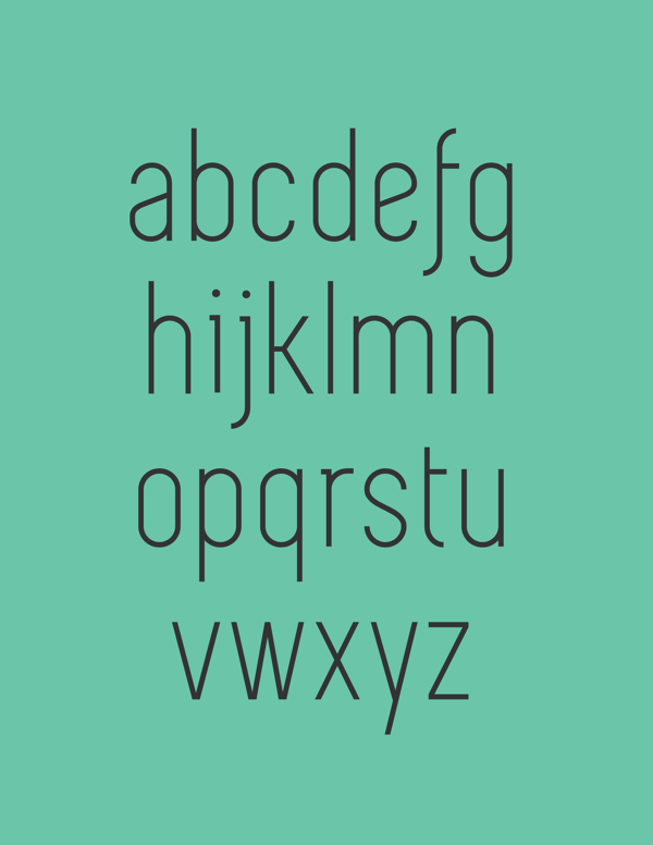 6.Free Font Of The Day  Simplifica