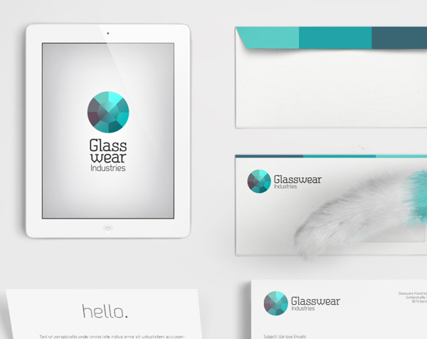 7.Visual Identity and Branding Series  Glasswear Industries