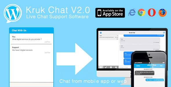 chat room mobile app wordpress