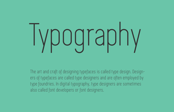 9.Free Font Of The Day  Simplifica