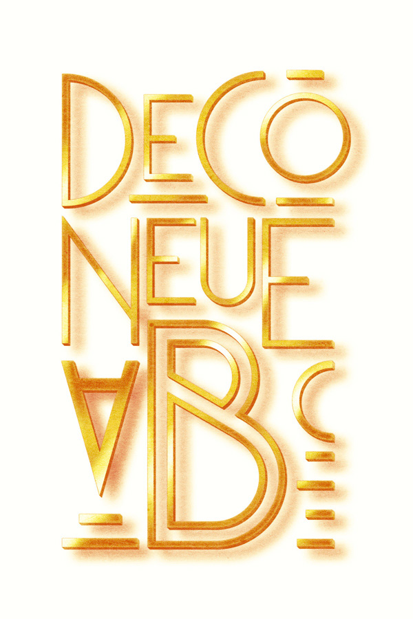 Free Font Of The Day  Deco Neue
