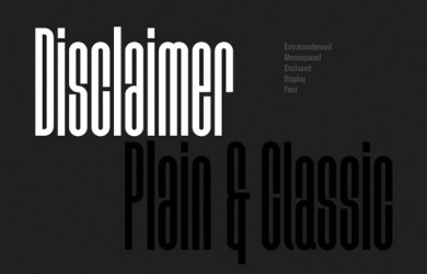 1.Free Font Of The Day  Disclaimer