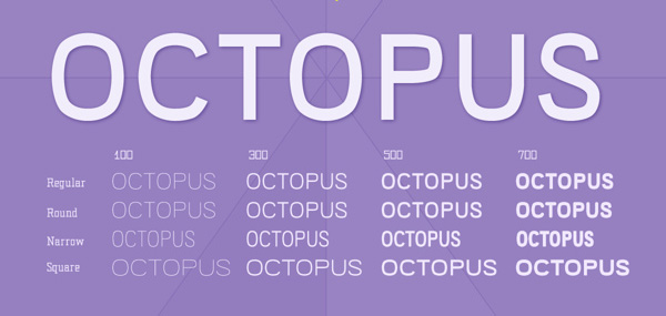 Free Font Of The Day  Octopus