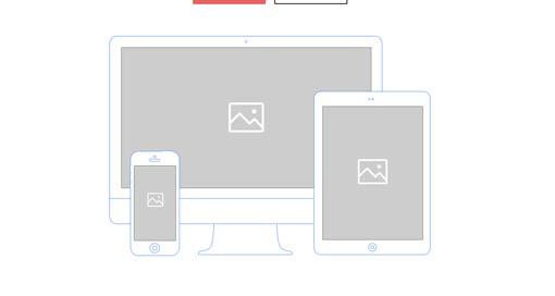 Free Download : One Page Website Wireframes