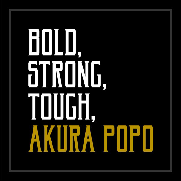 2.Free Font Of The Day  Akura Popo