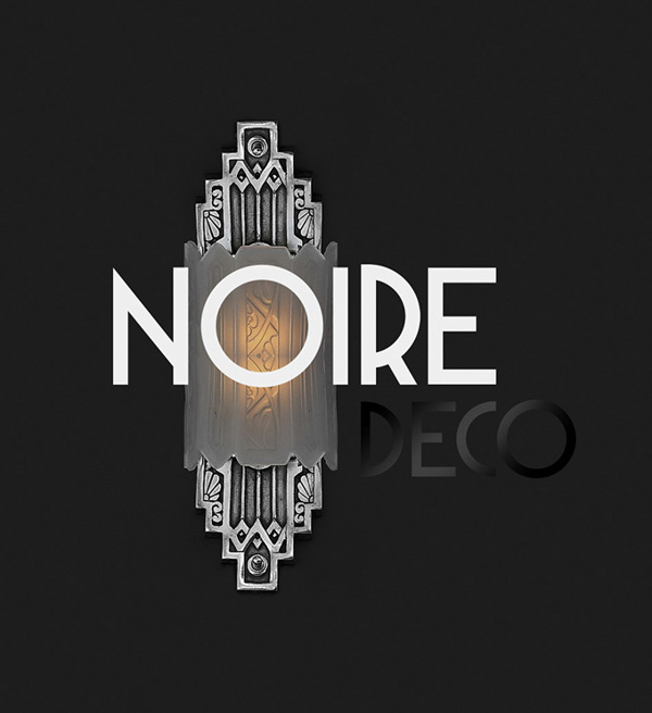 2.Free Font Of The Day  Deco Neue