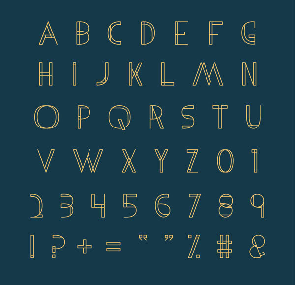 2.Free Font Of The Day  Metria