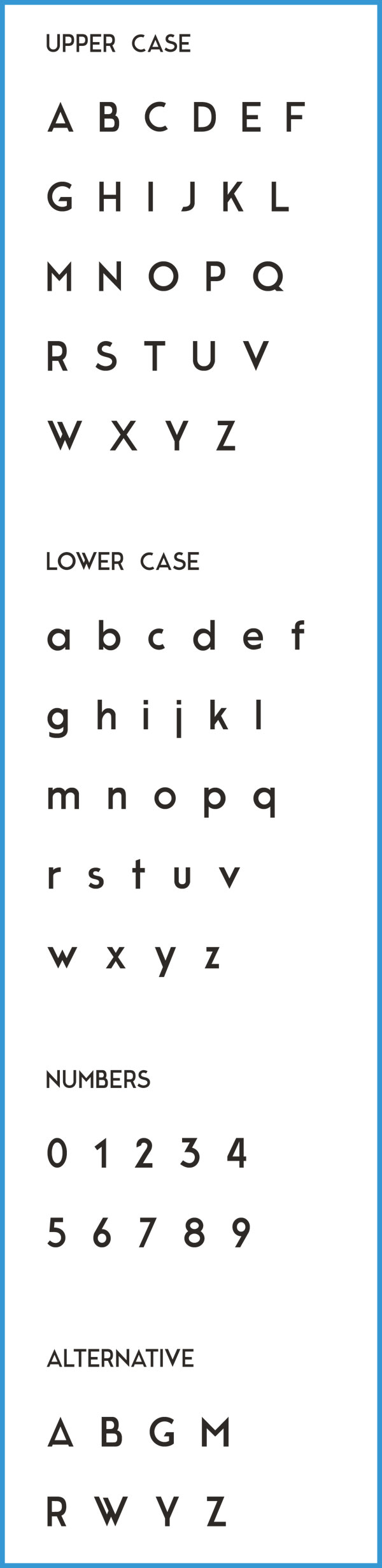 2.Free Font Of The Day  Moderne Sans