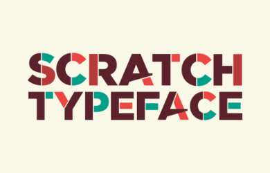 2.Free Font Of The Day  Scratch