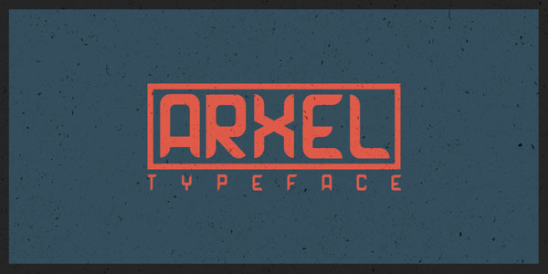 3.Free Font Of The Day  Arxel