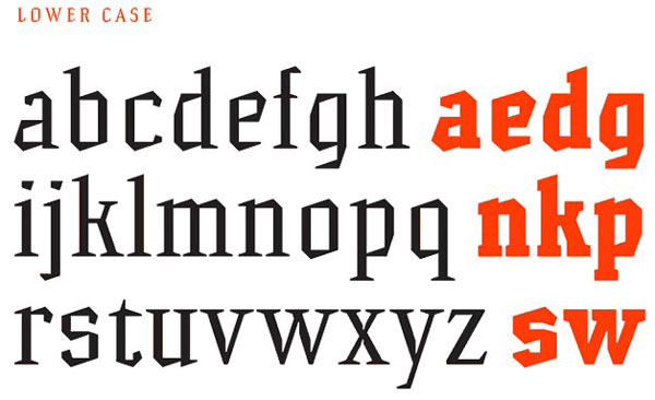 5.Free Font Of The Day  Hammerhead
