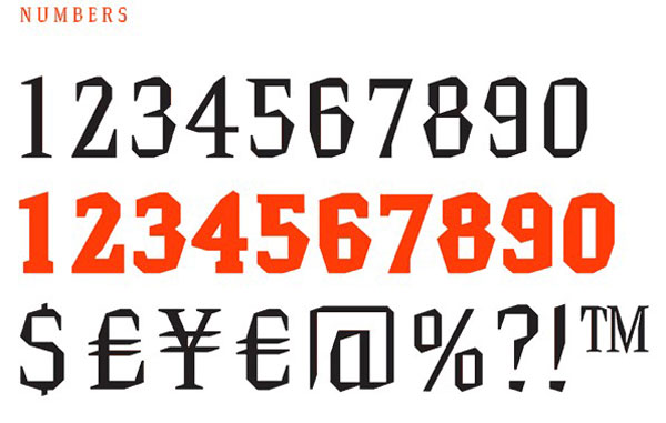 6.Free Font Of The Day  Hammerhead