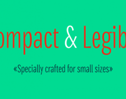 2.Free Font Of The Day  Densia Sans