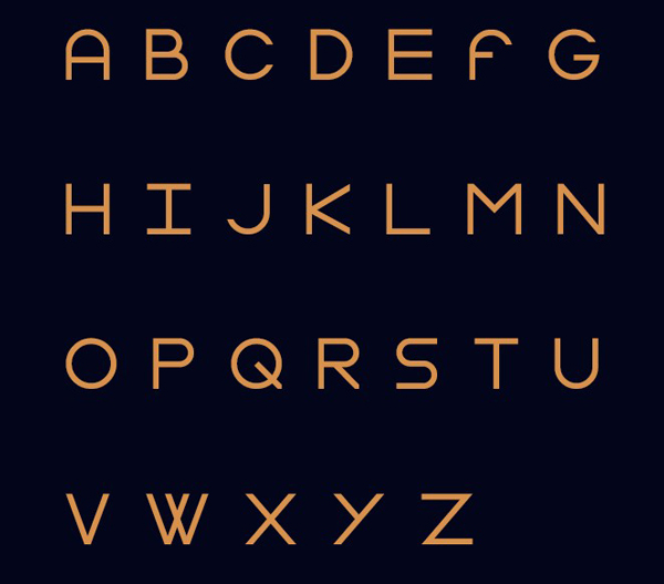 3.Free Font Of The Day  Gasalt