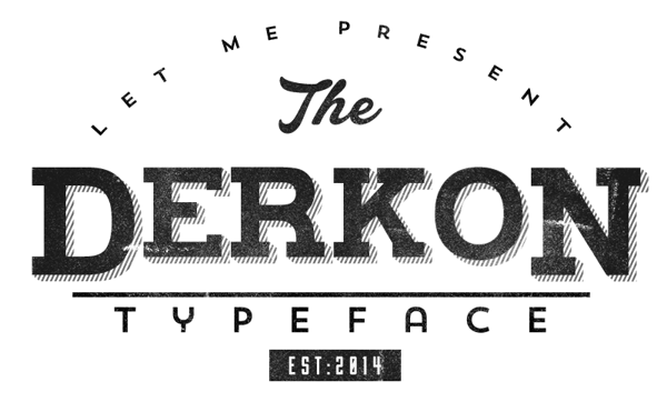 4.Free Font Of The Day  Derkon