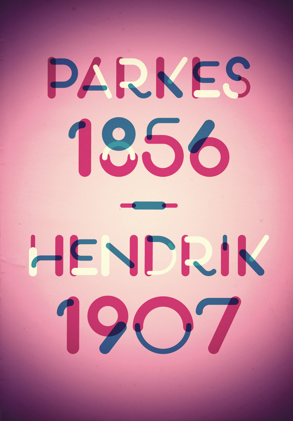 4.Free Font Of The Day  PLSTK