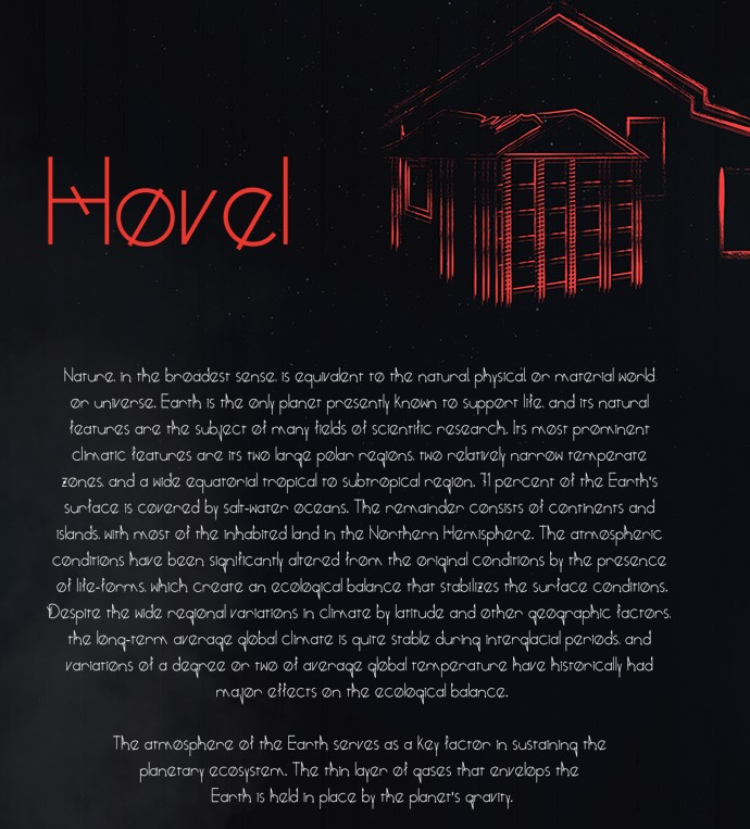 1.Free Font Of The Day  Hovel