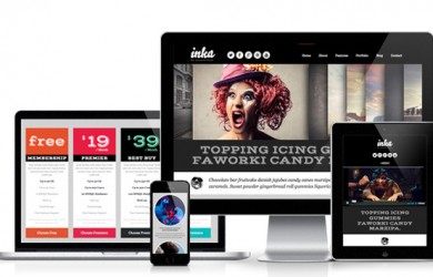 1.Retro Responsive WordPress Theme