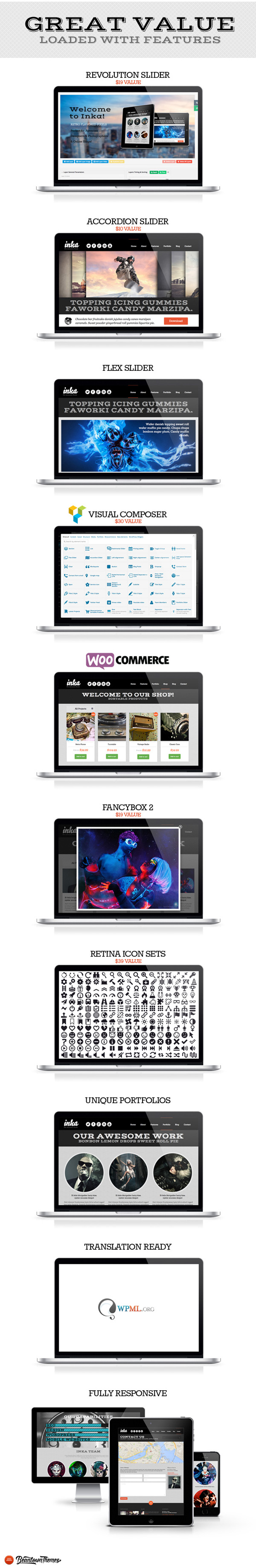 2.Retro Responsive WordPress Theme