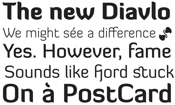 2.free font of the day diavlo